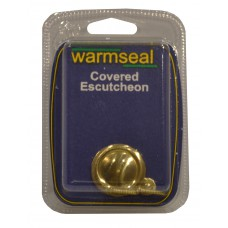 Covered Escutcheon - Polished Brass