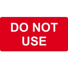 DO NOT USE - Labels (50 x 25mm Roll of 500)