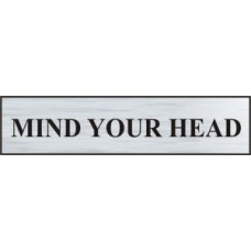 Mind your head - BRS (220 x 60mm)