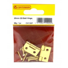 25mm EB 1838 Pattern Steel Butt Hinge (1 pair)