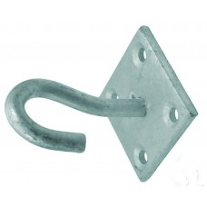 8mm Galvanised Hook On Plate