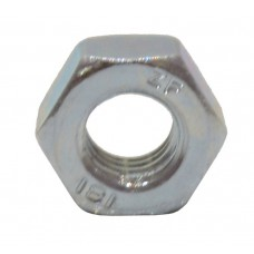 M6 ZP Steel Hex Nuts  (Pack of 18)