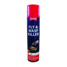 Rentokil - Fly & Wasp Killer - 300ml - PSF126 (DGN)