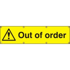 Out of order - BAN (1200 x 300mm)