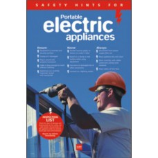 RoSPA Safety Poster - Portable electrical appliances (Paper)