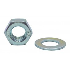 M8 ZP Nuts & Washers  (Pack of 20)