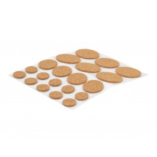 Self Adhesive Assorted Cork Pads (Pack of 20)