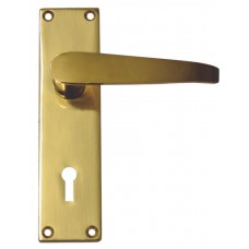 140mm Victorian Straight Lever Lock Handle