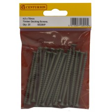 75mm x 4.5mm Timber Decking Screws (Pack of 25)