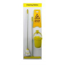 Shadowboard - Cleaning Station Style C (Yellow)