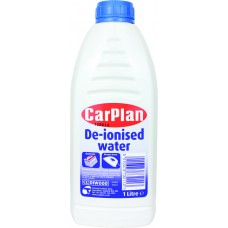 CarPlan De- Ionised Water - 1 Litre