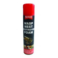Rentokil - Wasp Destroyer Foam - 300ml - PSW97 (DGN)