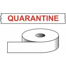Quarantine - printed tape (50mm x 66m)