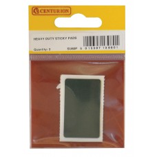 40mm x 25mm Heavy Duty Sticky Pads (Pack of 2)