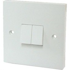 6 Amp Double 2 Way Wall Switch