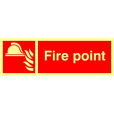 Fire point - Photolum. (300 x 100mm)