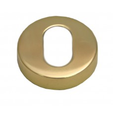 50mm PB Concealed Oval Escutcheon