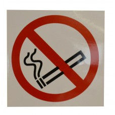 89 x 89mm S/A Vinyl No Smoking