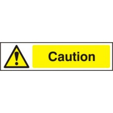 Caution - PVC (200 x 50mm)