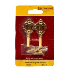 50mm PB Fleur De Lys Tassel Hook (Pack of 2)