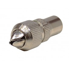 Male Metal Co-Axial Plug