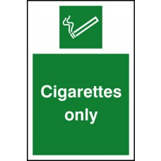 Cigarettes only - RPVC (100 x 150mm)