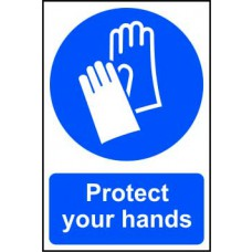 Protect your hands - PVC (200 x 300mm)