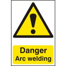 Danger Arc welding - PVC (200 x 300mm)
