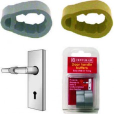 Aluminium Colour Door Handle Buffer (Pack of 2)