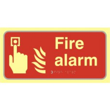Fire alarm - TaktylePh (300 x 150mm)