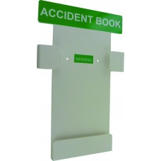 Accident book - wall holder