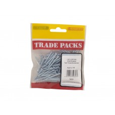 "1 1/4"" x 6 ZP Pozi Twinthread C/Sunk Woodscrews Trade Packs (pack of 100)"