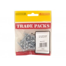 "1 1/4"" x 8 ZP Pan Head Self Tapping Screws  (Pack of 30)"