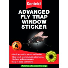 Rentokil - Advanced Fly Trap Window Stickers - FW35 (DGN)