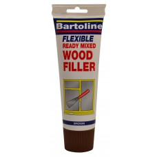 Bartoline 330gmTube Brown Wood Filler