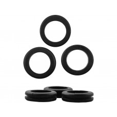 20mm Open Rubber Grommets (Pack of 4)