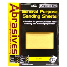 1 Abrasive Sandpaper (pack of 25)