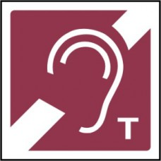 Ear Symbol - Taktyle (150 x 150mm)