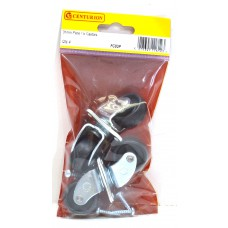 31mm Plate Fix Castors (Pack of 4)