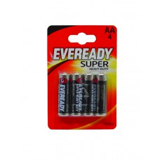 Eveready - Super Zinc Batteries - S4028 AA x 4