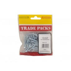 "1 1/4"" x 10 ZP Pozi Twinthread C/Sunk Woodscrews Trade Packs (pack of 50)"