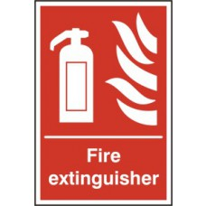 Fire extinguisher - RPVC (200 x 300mm)
