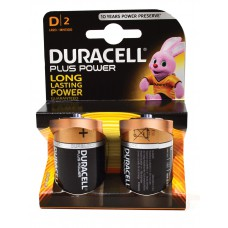 Duracell - Batteries - Plus Power D x 2