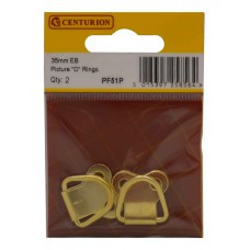 35mm EB Large Picture D Rings (Pack of 2)