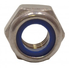 M10 SS Nylon Locking Nuts (Pack of 2)