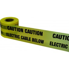 Underground Tape 150mm x 365mtrs Electric cable below