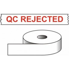 QC Rejected - printed tape (50mm x 66m)