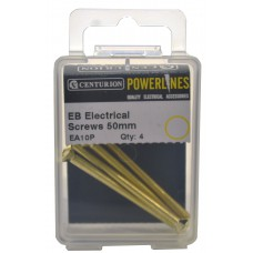 M3.5 x 50mm EB Electrical Screws (Pack of 4)