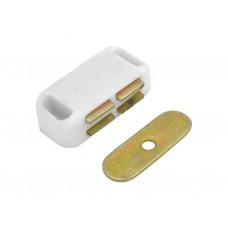 43mm White Small Magnetic Catch