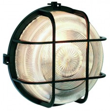 Bulkhead Light - Round - Black